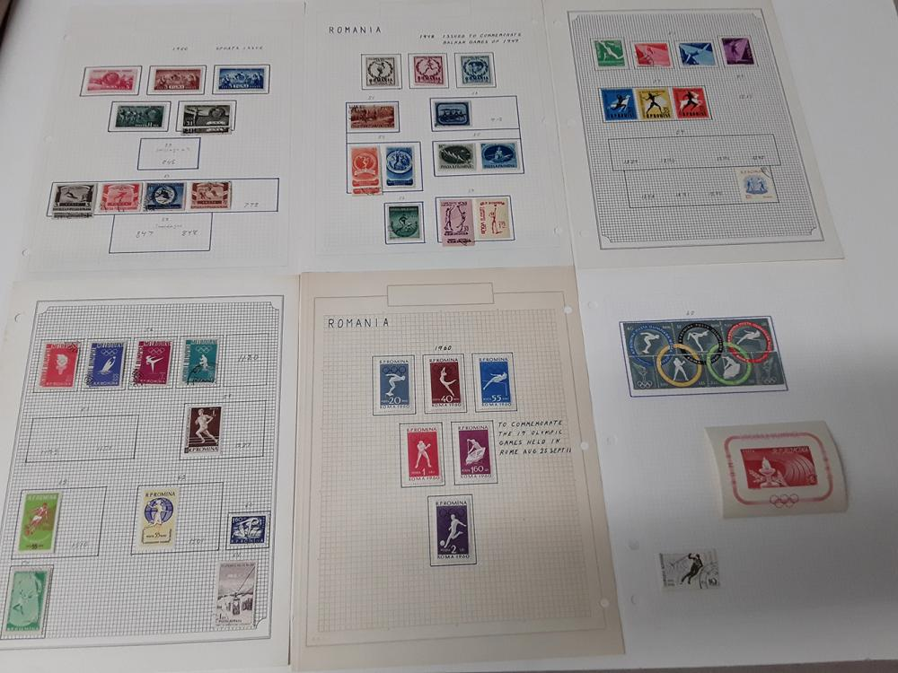Europe Stamp Collection