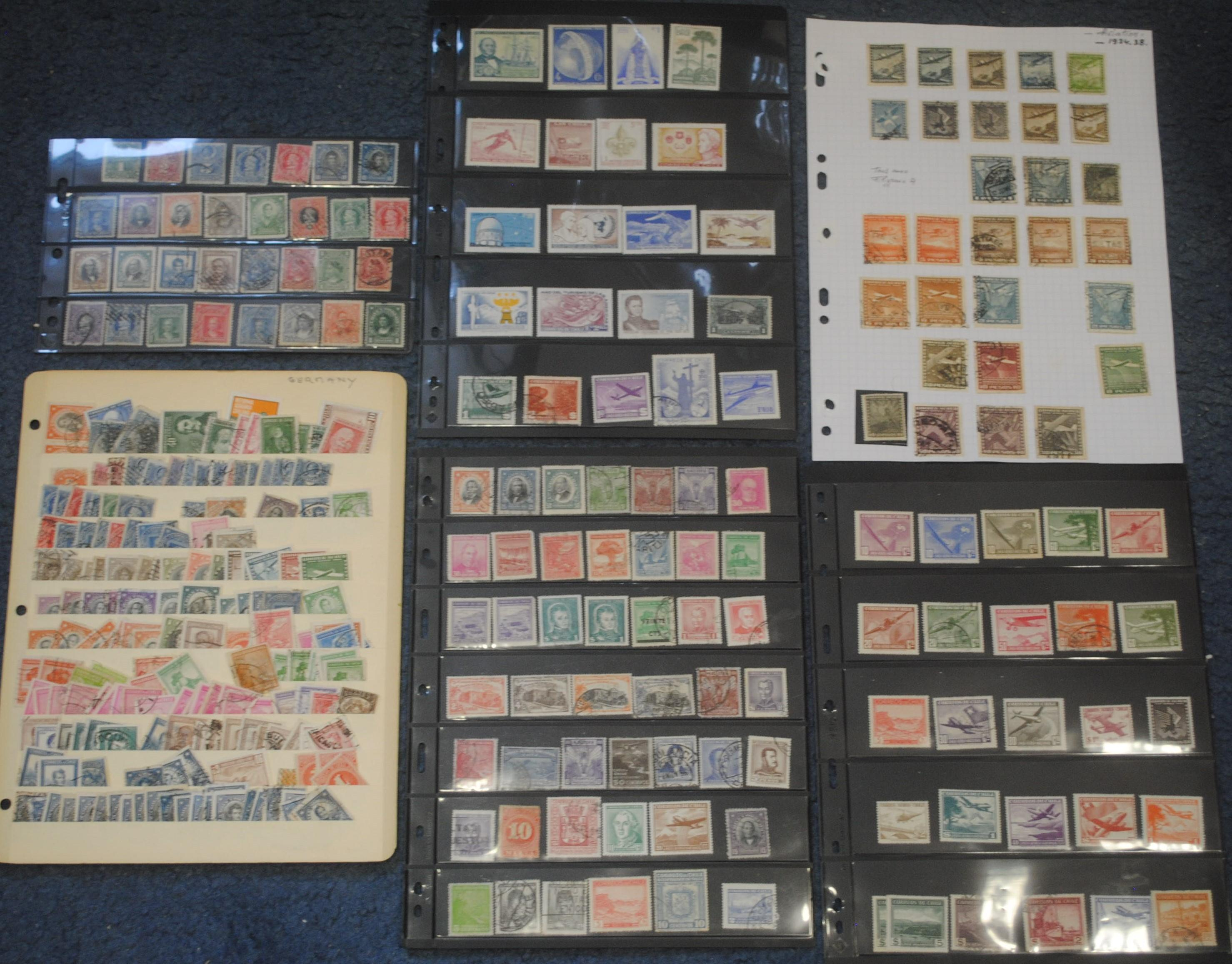 Chile Stamp Collection 1