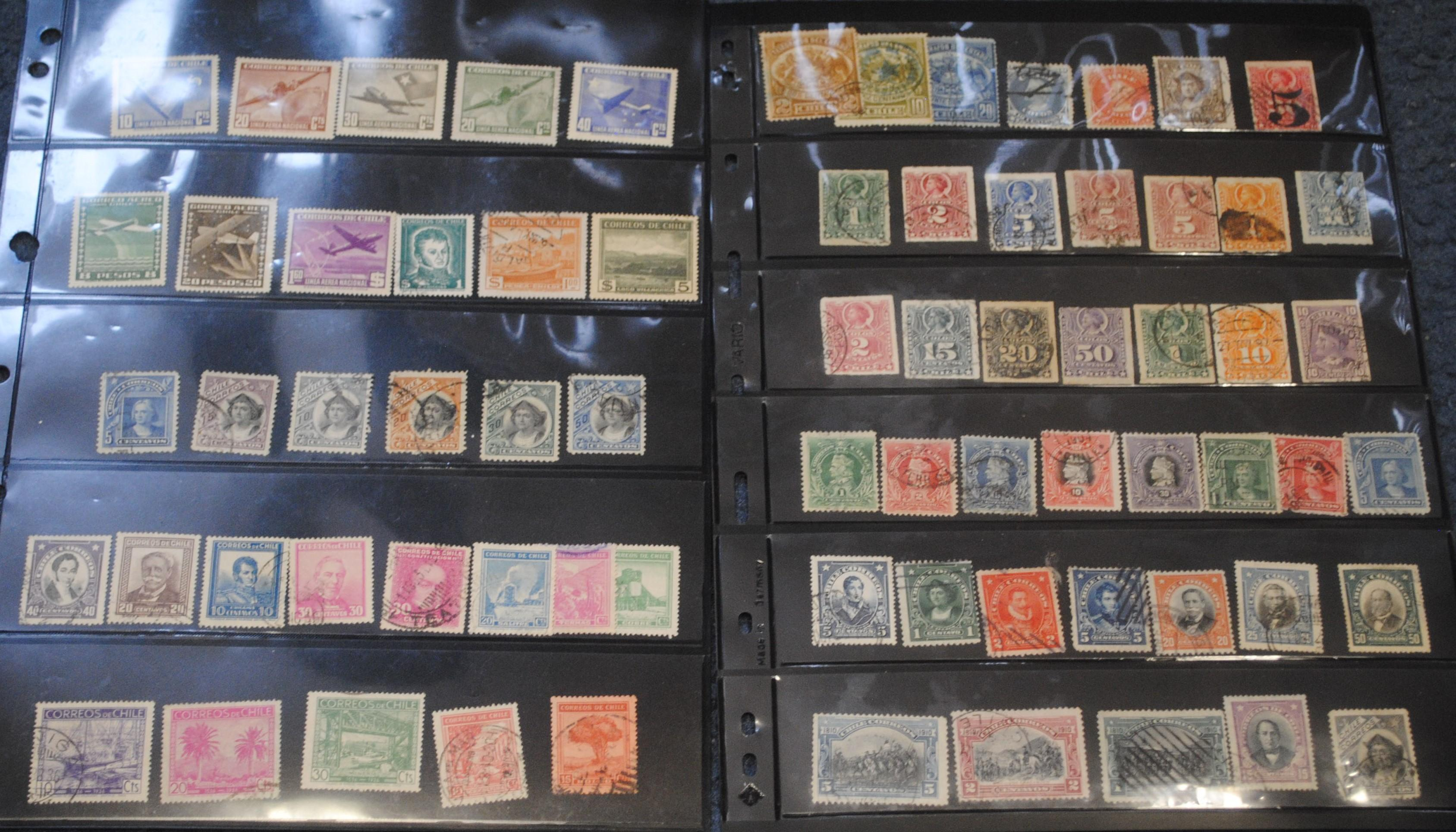 Chile Stamp Collection 2