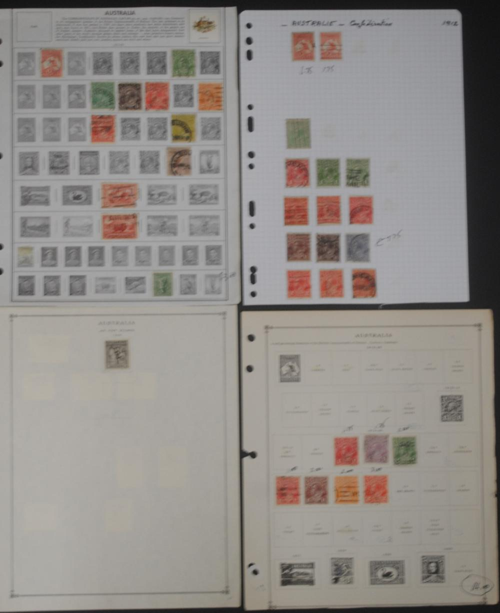 Australia and Australia States Stamp Collection 1
