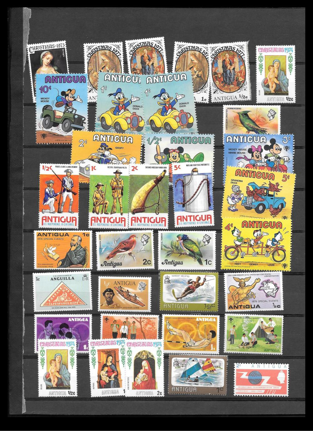 Antigua Stamp Collection