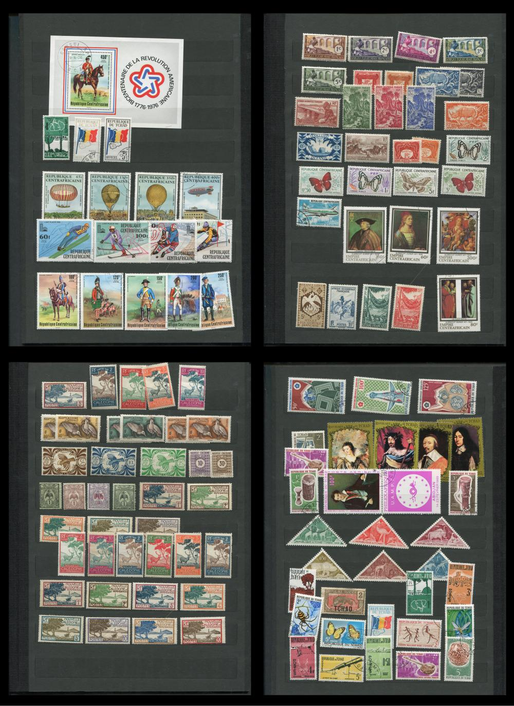 French Colonies Stamp Collection