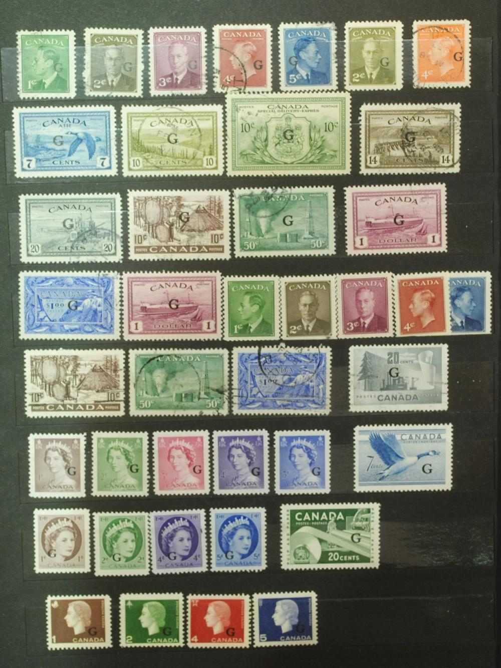 Canada Stamp Collection 1949/1950 (76 Stamps)