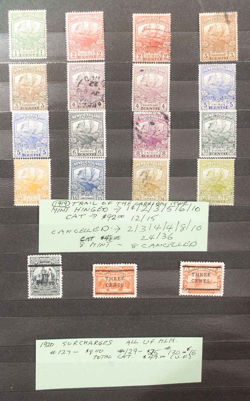 Canada Stamps (100 stamps) 1859-1864 5 cent Cancelled VG-VF