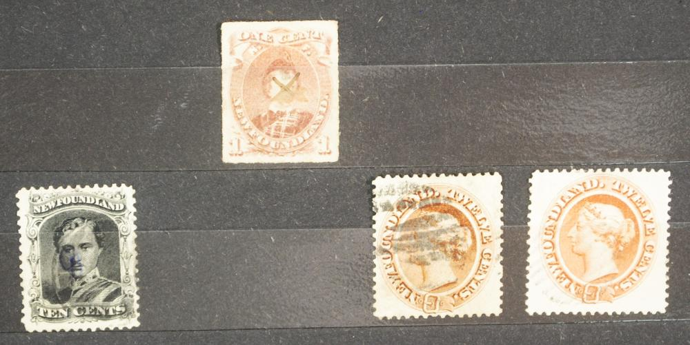 Canada Newfoundland 1880-1897 Stamp Collection