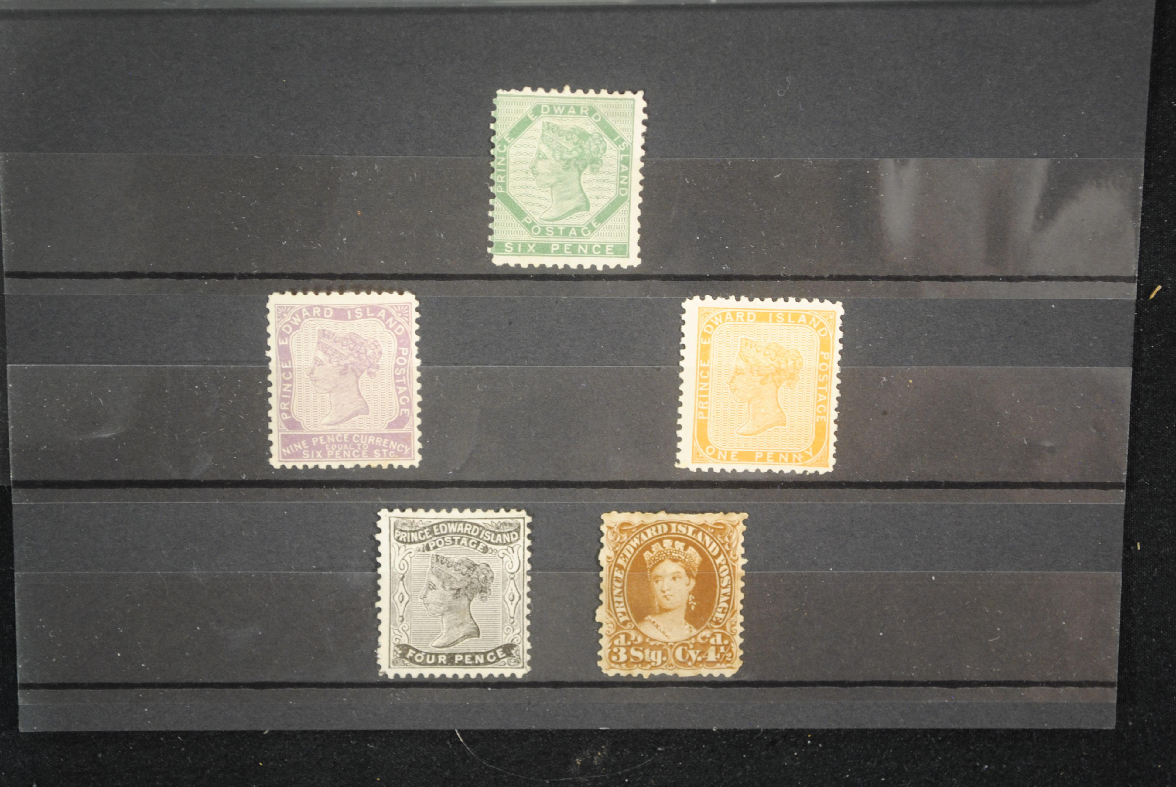 Canada Prince Edward Island 1861-1870 Stamp Collection