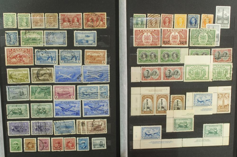 Canada Stamp Collection 4