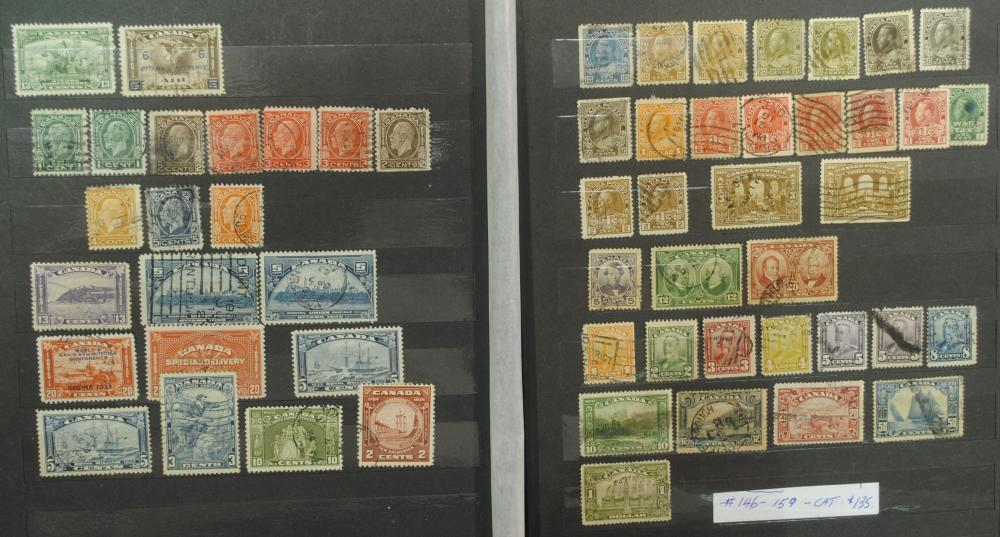 Canada Stamp Collection 11