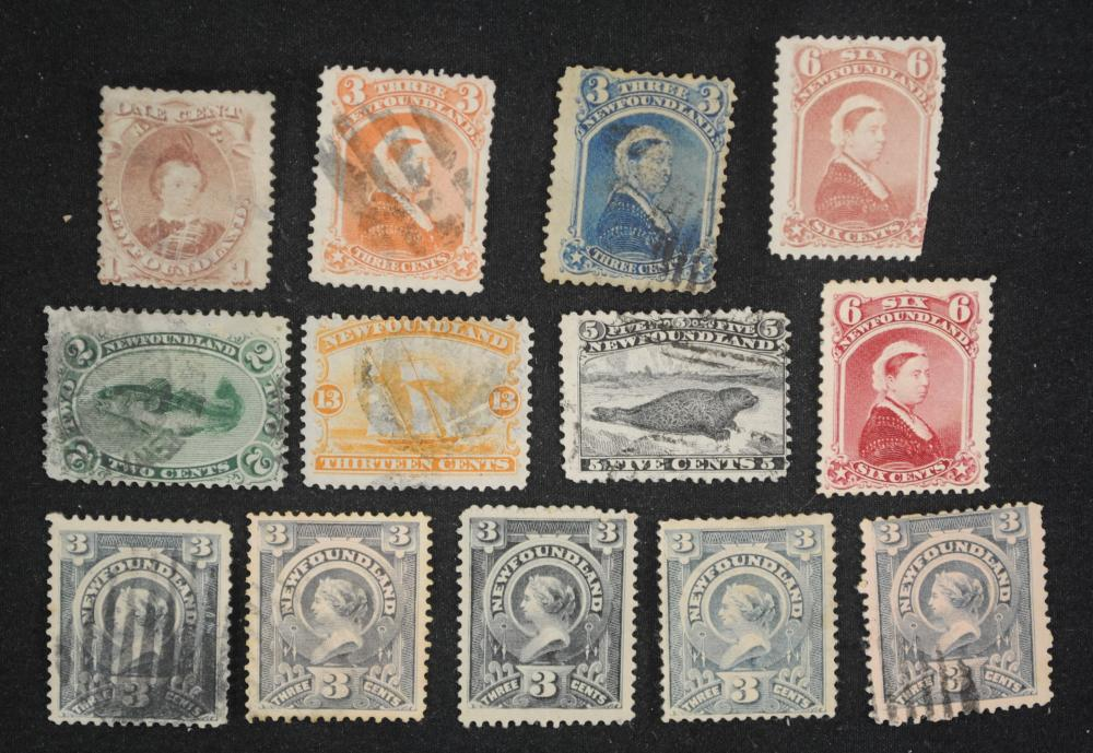 Canada Newfoundland Stamp Collection 4