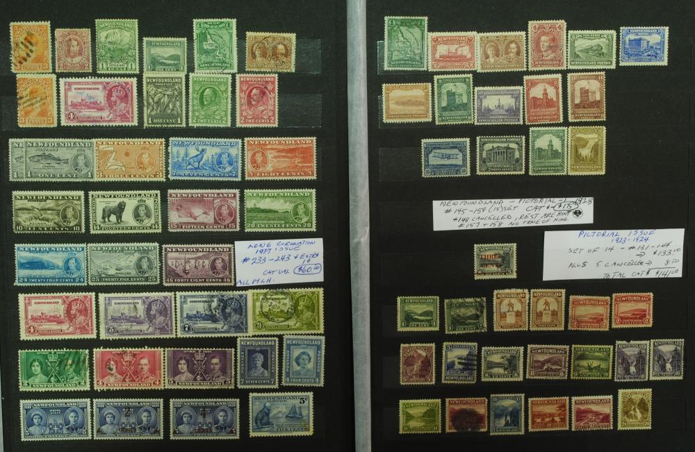 Canada Newfoundland Stamp Collection 2