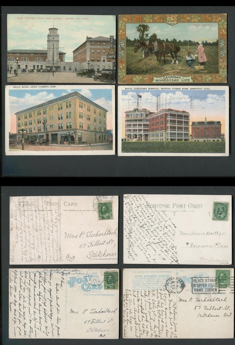 Canada - Western Canada Post Cards