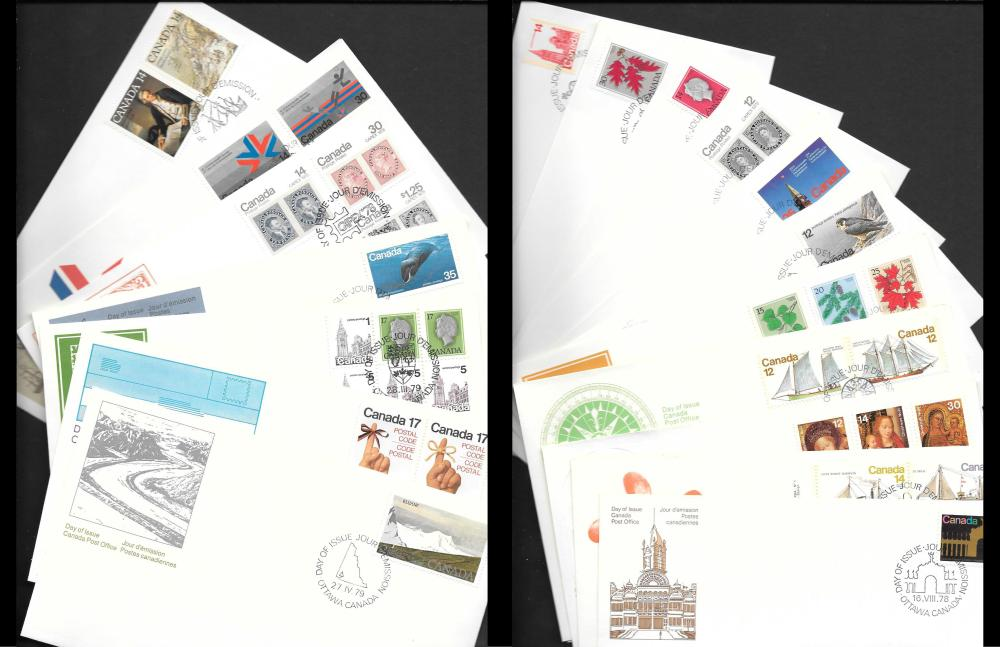 Canada First Day Cover Collection 2