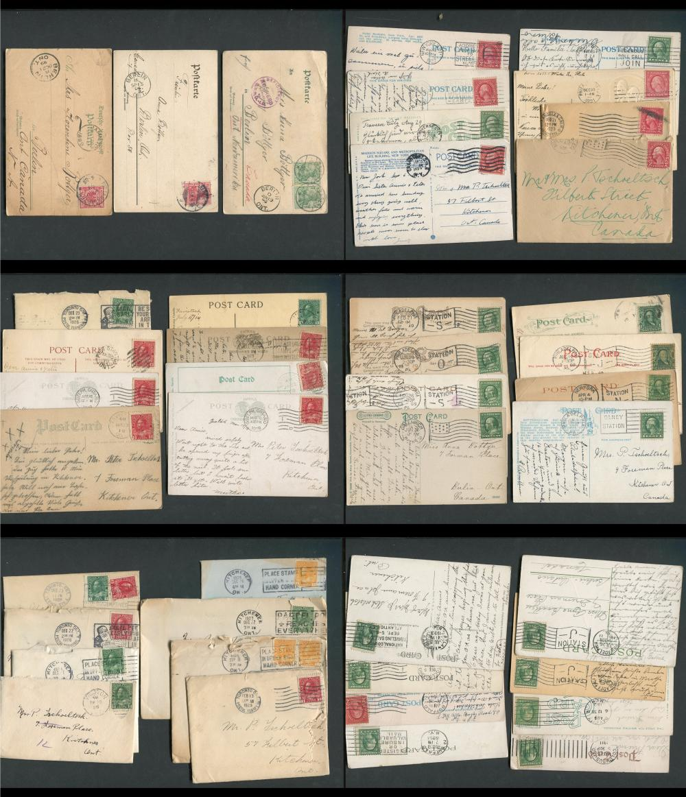 Canada Post Card Collection