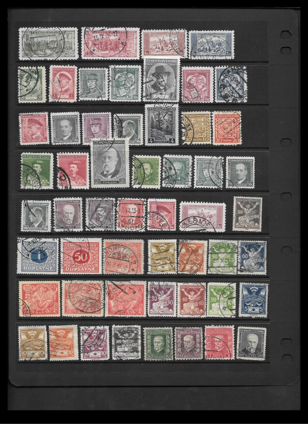 Czechoslovakia Stamp Collection 2