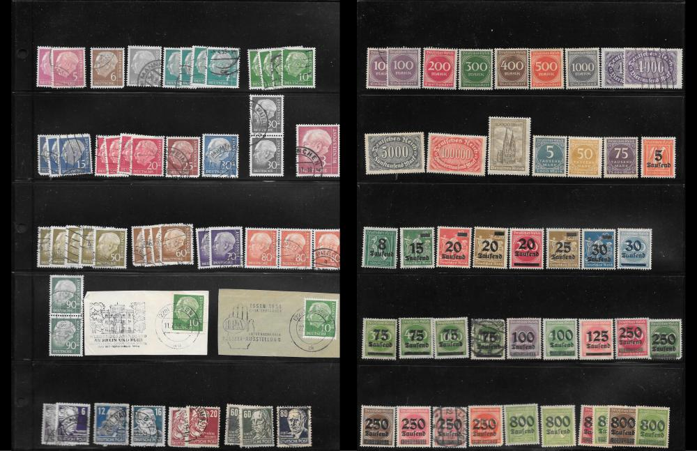 Germany and German States Stamp Collection 1