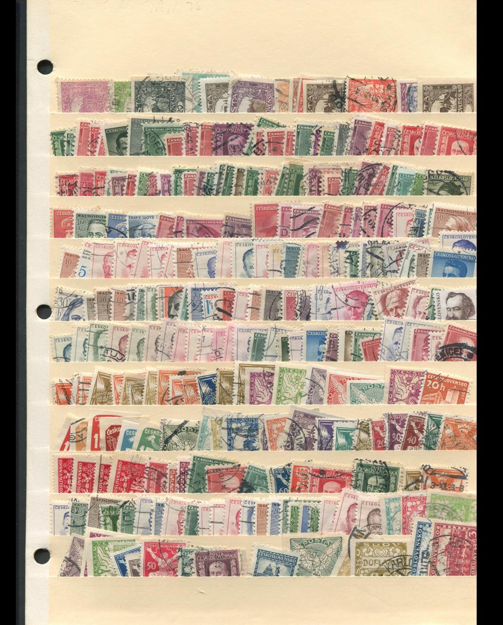 Czechoslovakia Stamp Collection 4