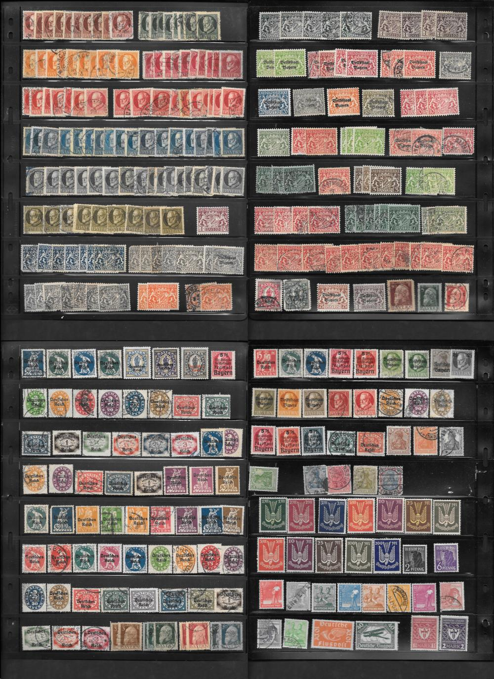 Germany and German States Stamp Collection 3