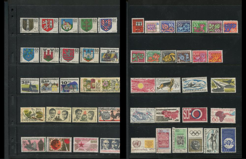 Czechoslovakia Stamp Collection 3
