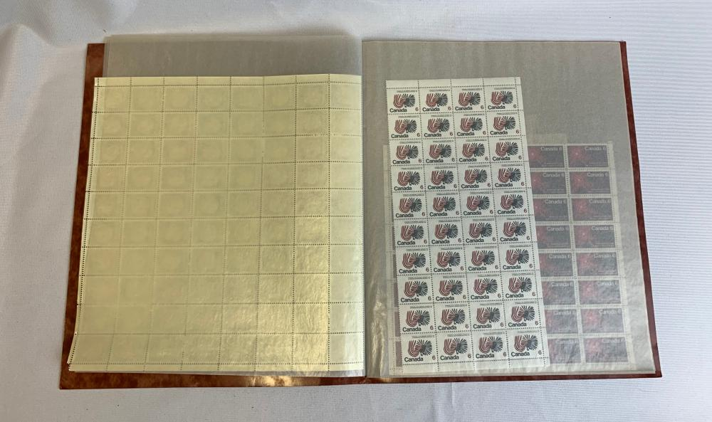 Canada Mint Stamp Sheets