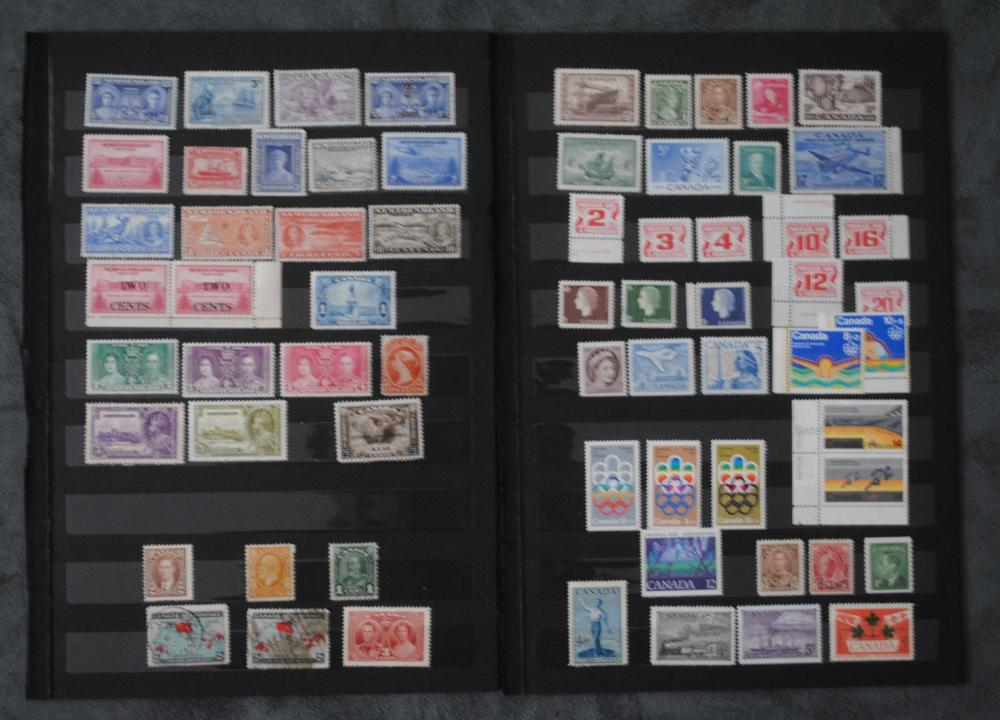 Canada and Newfoundland Stamp Collection