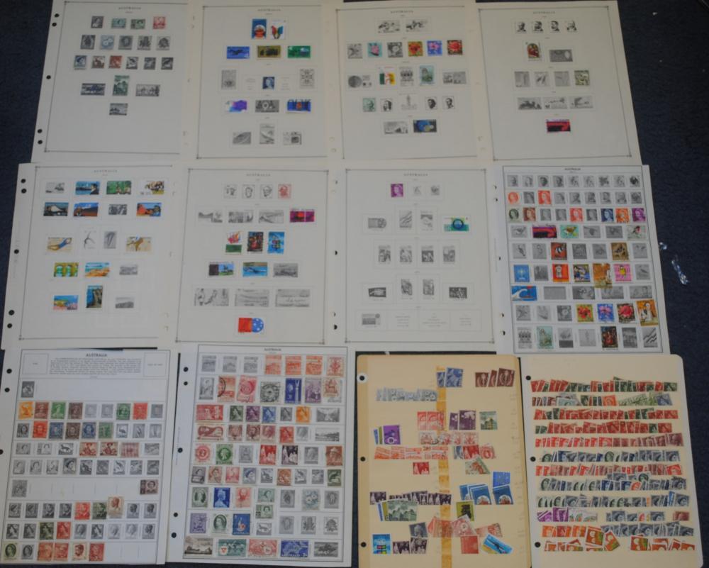 Australia Stamp Collection 1