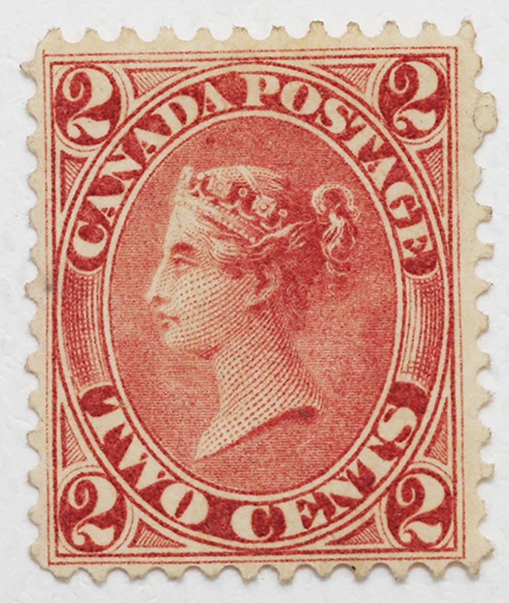 Canada 2c U/T #20iii Mint EF NG