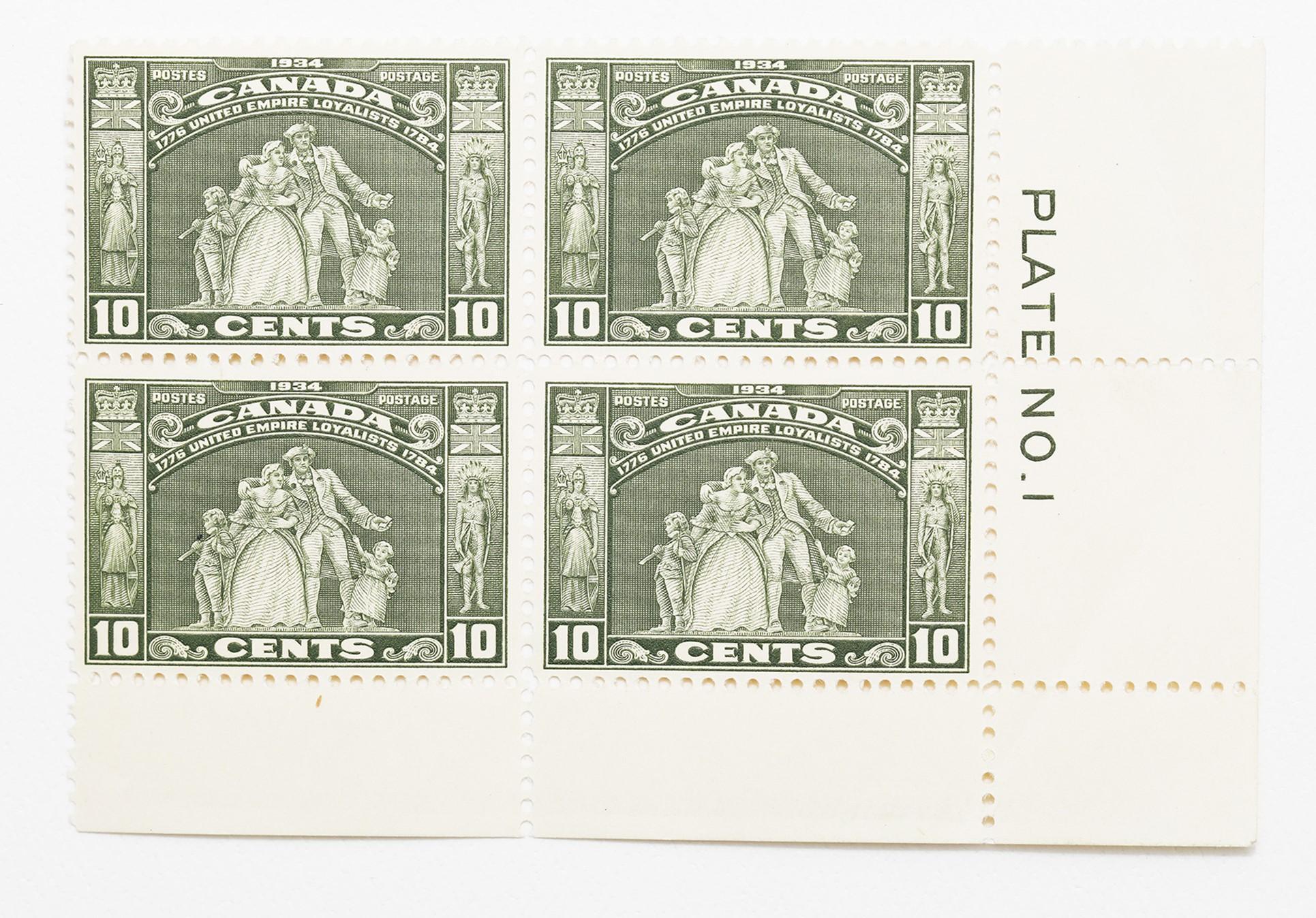 Canada 1934 10c Block of 4 S/C #209 MNH