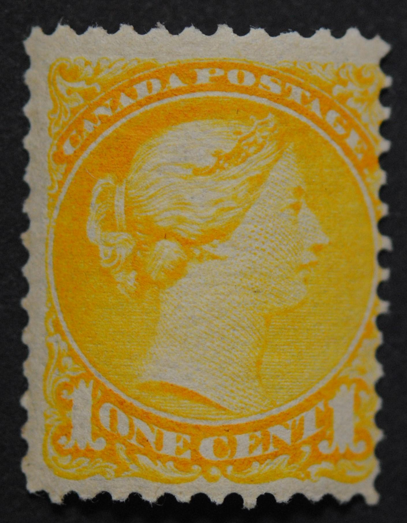 Canada 1870 1c Small Queen S/C #35 MNH F+ OG
