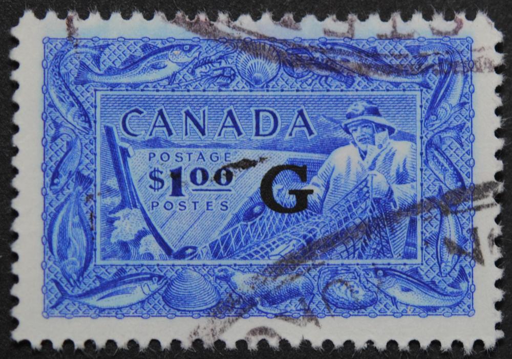 Canada 1950 $1 S/C #027