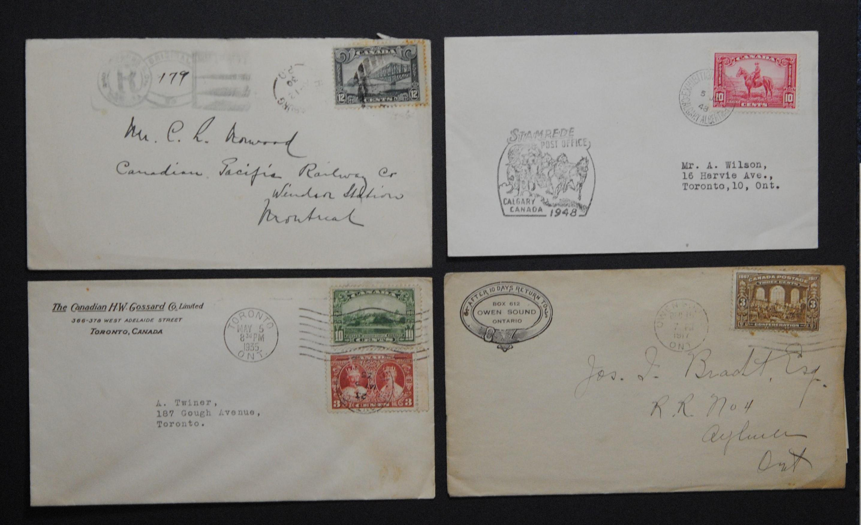 Canada Stamp Covers Collection 2