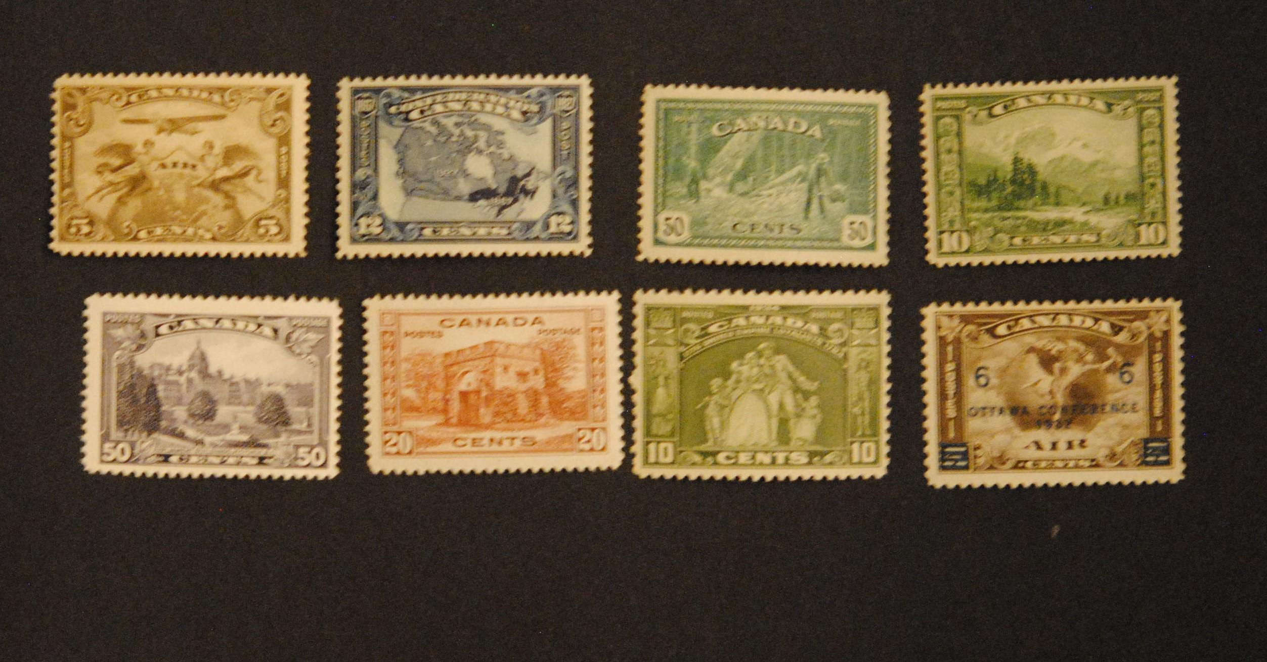 Canada Stamp Collection 8