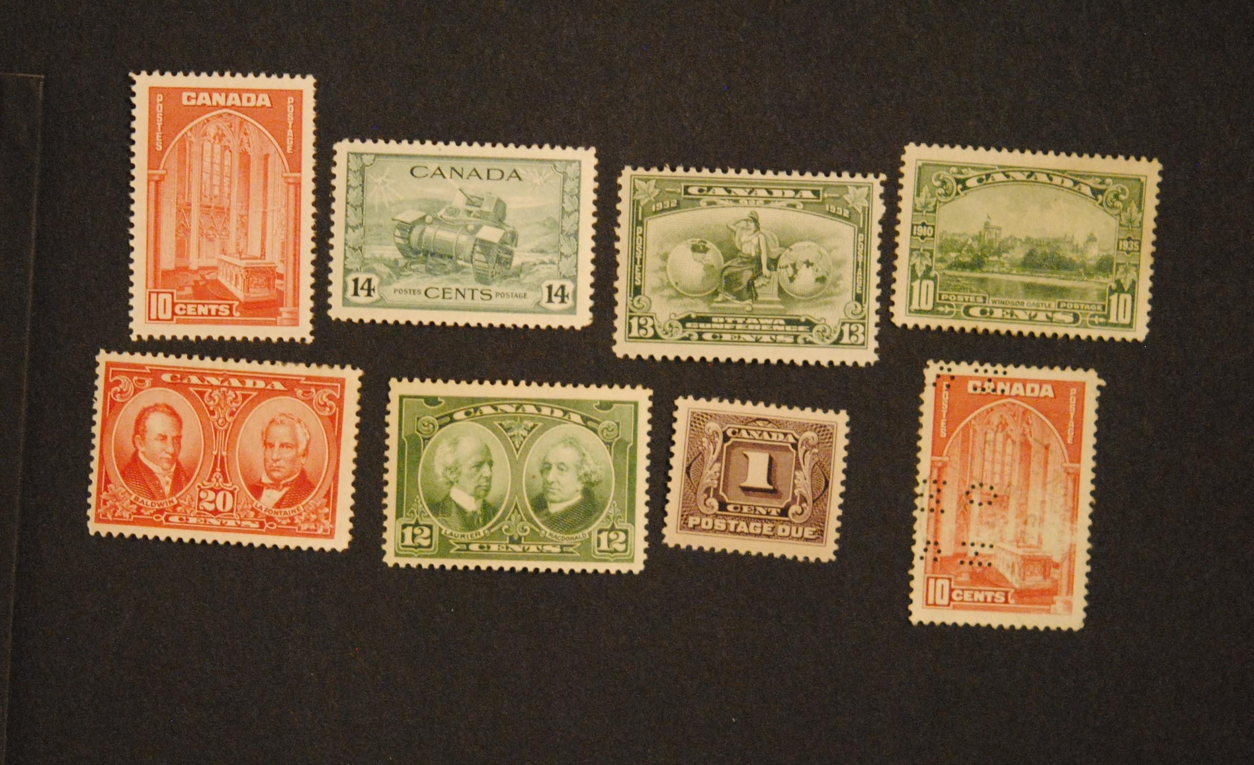 Canada Stamp Collection 19
