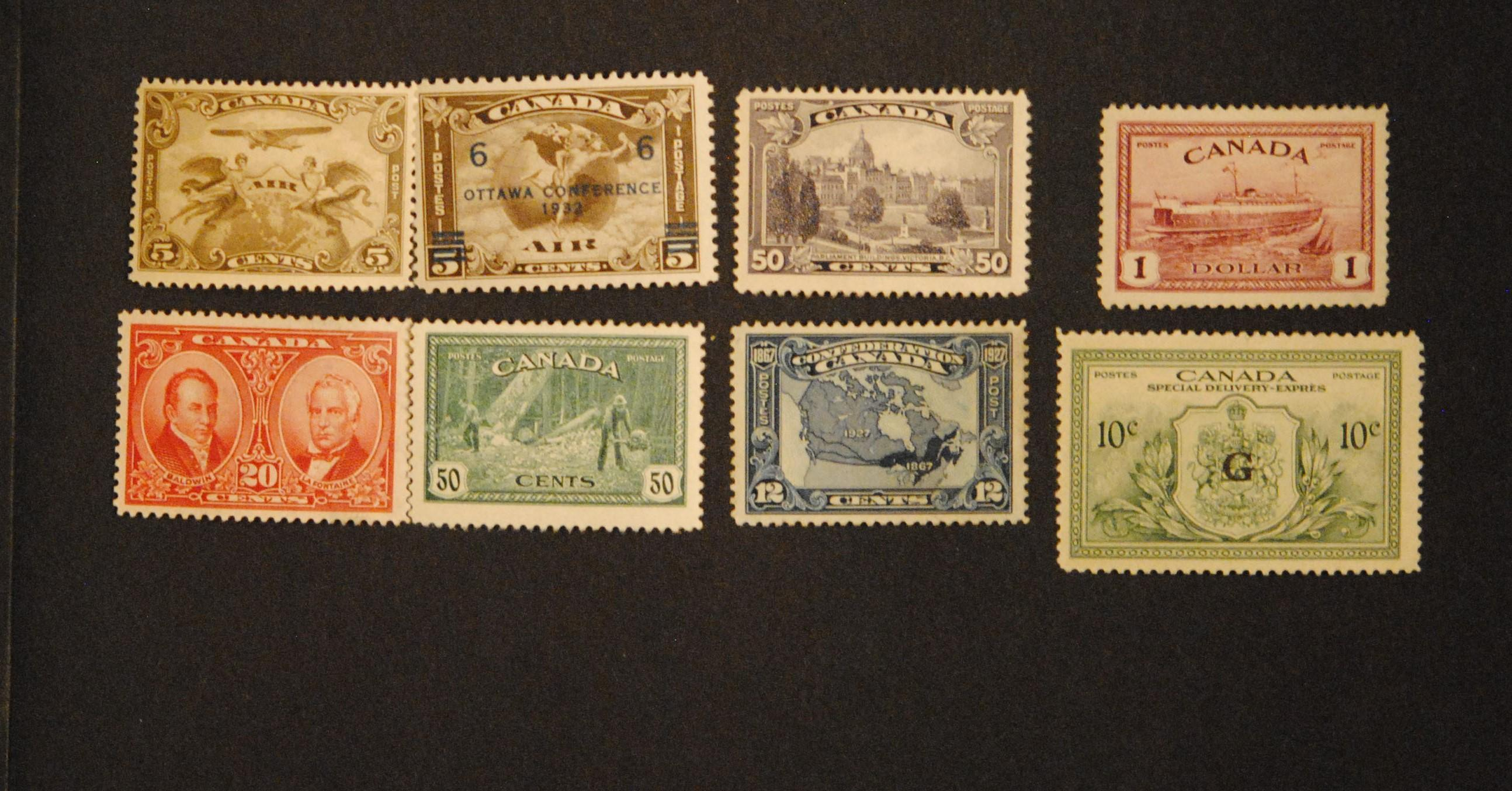 Canada Stamp Collection 7