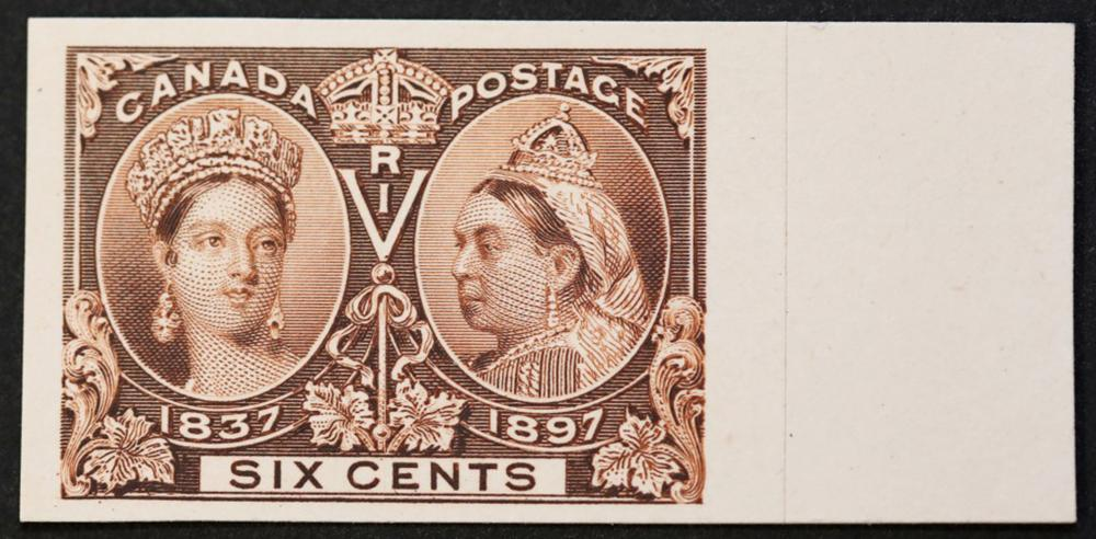 Canada 1897 6c Plate Proof S/C #55P MNH