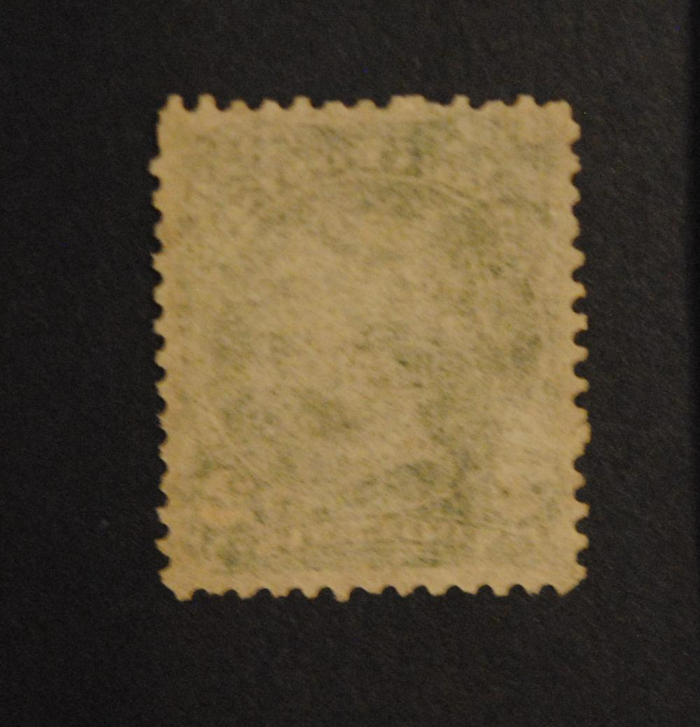 Canada 2c S/C #24 Deep Green Thin Paper M F NG