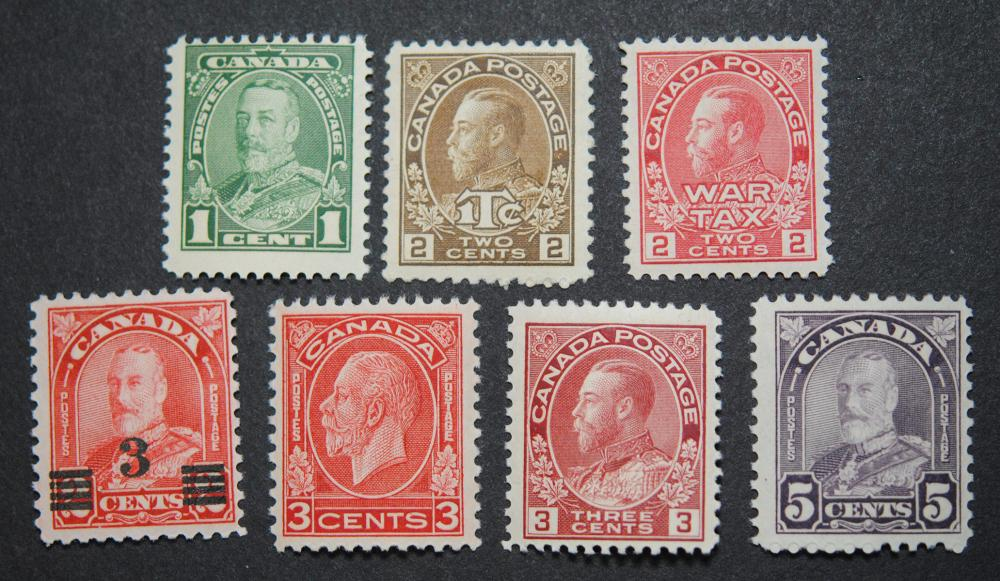 Canada Stamp Collection 16
