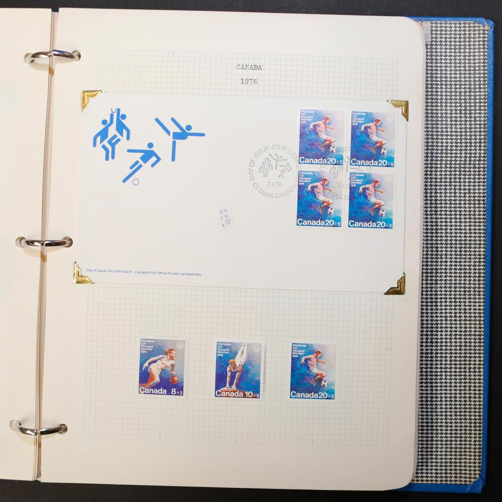 Canada Stamp, First Day Covers, and Letters Collection