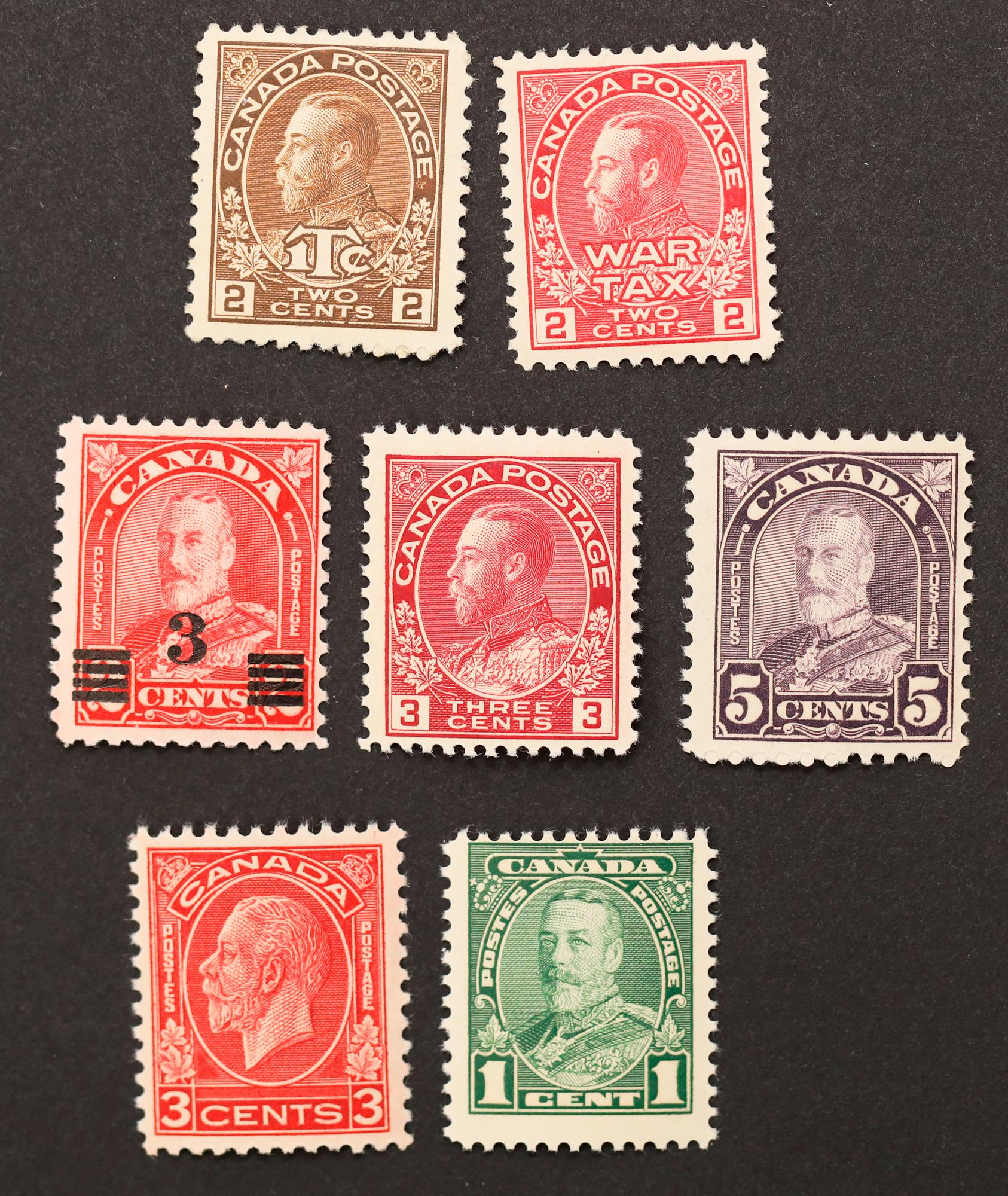 Canada Stamp Collection 9