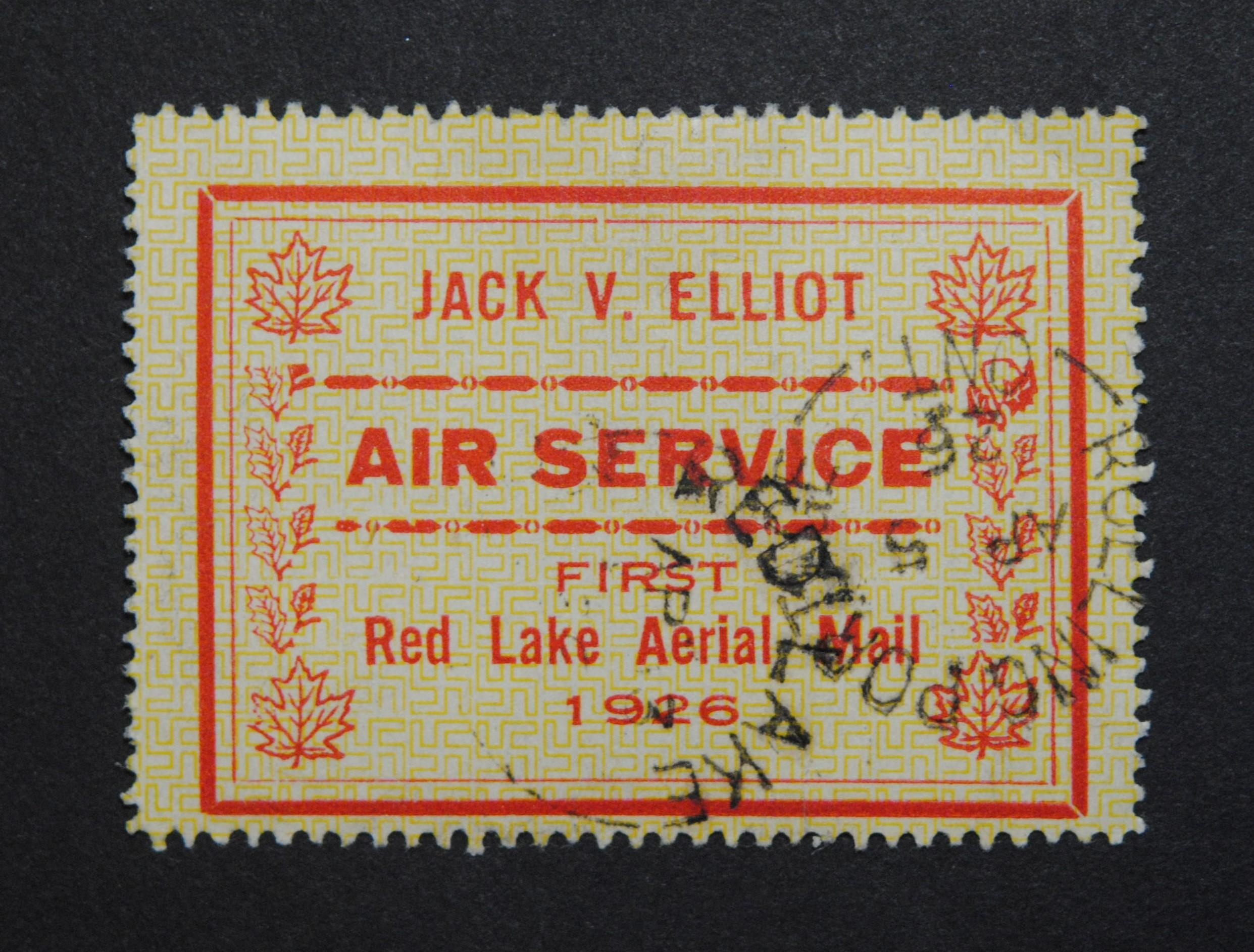 Canada 1926 Jack Elliott Air Service