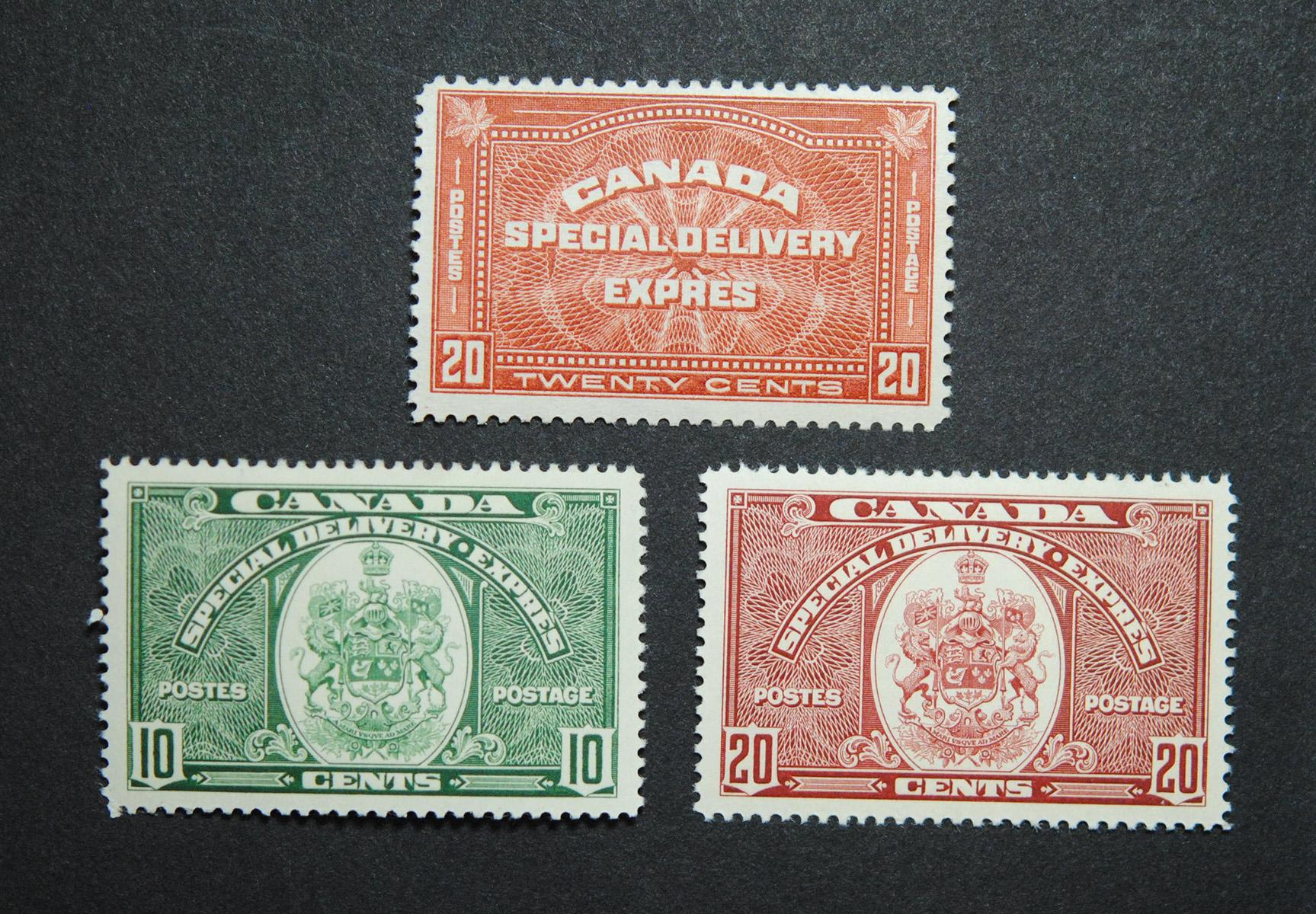 Canada Special Delivery Stamps