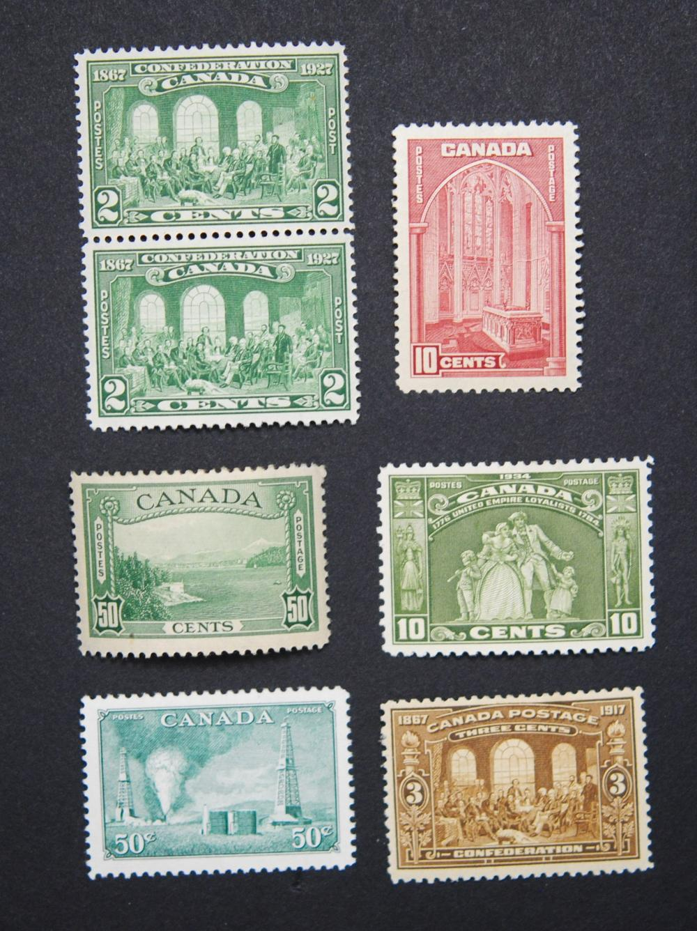 Canada Stamp Collection 14