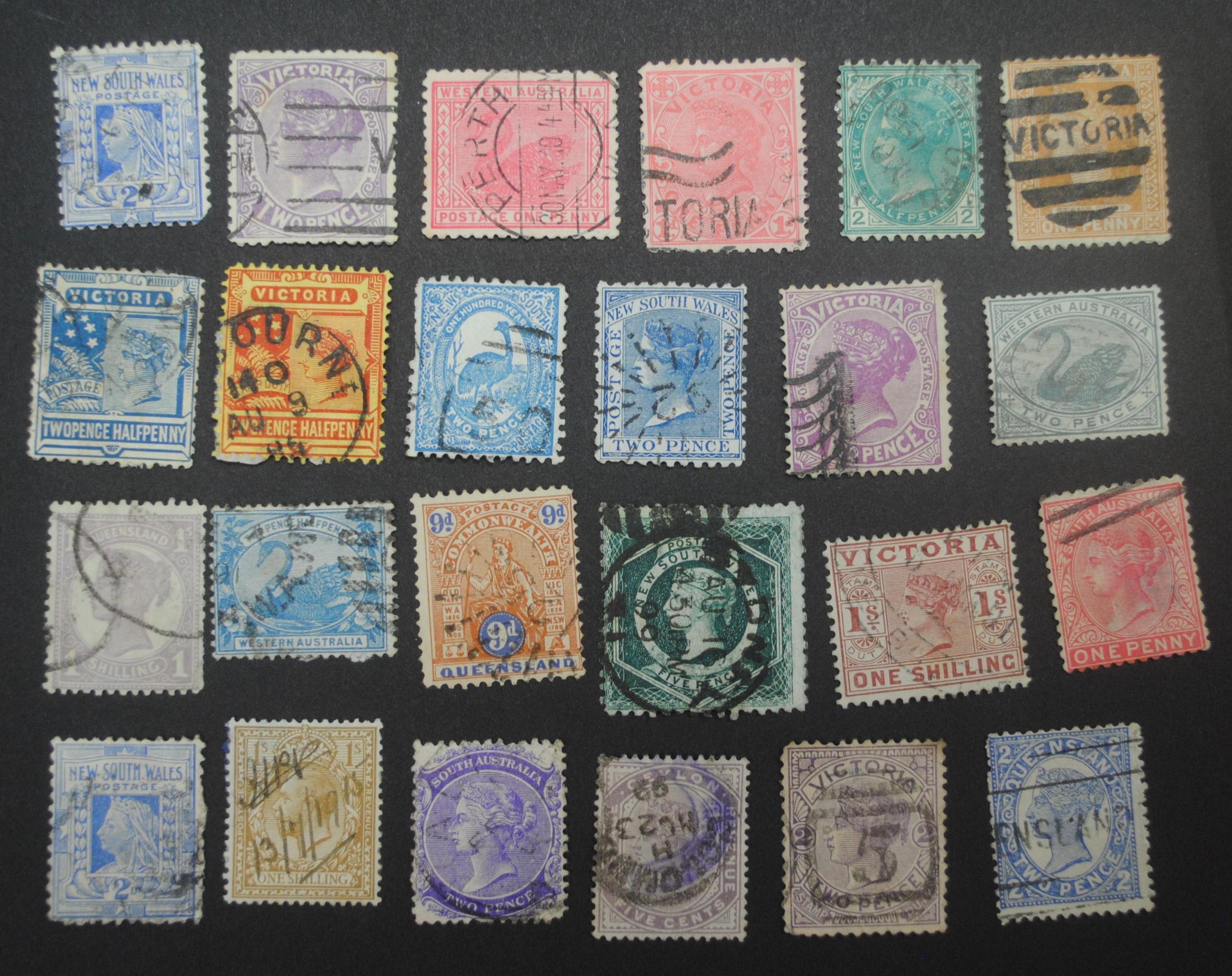 Australia States Stamp Collection 1