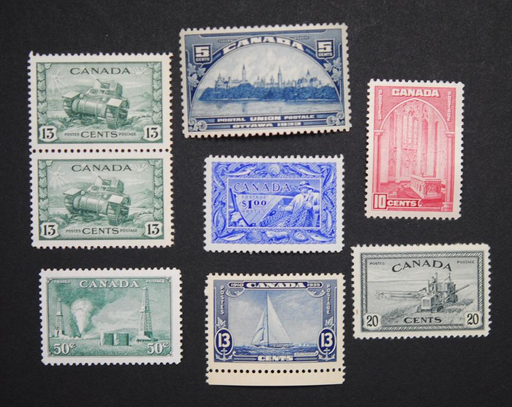 Canada Stamp Collection 12
