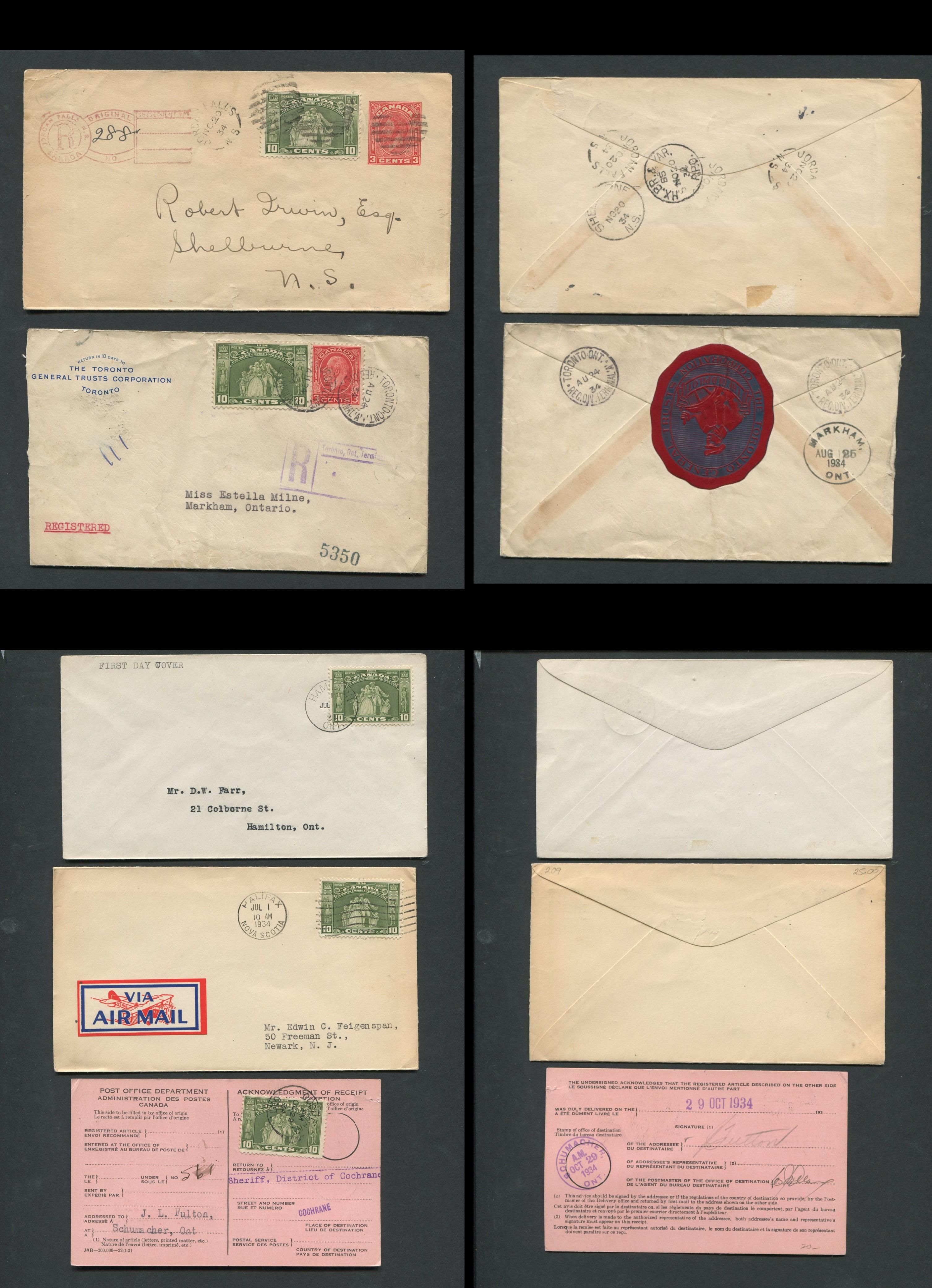 Canada First Day Cover Collection 3