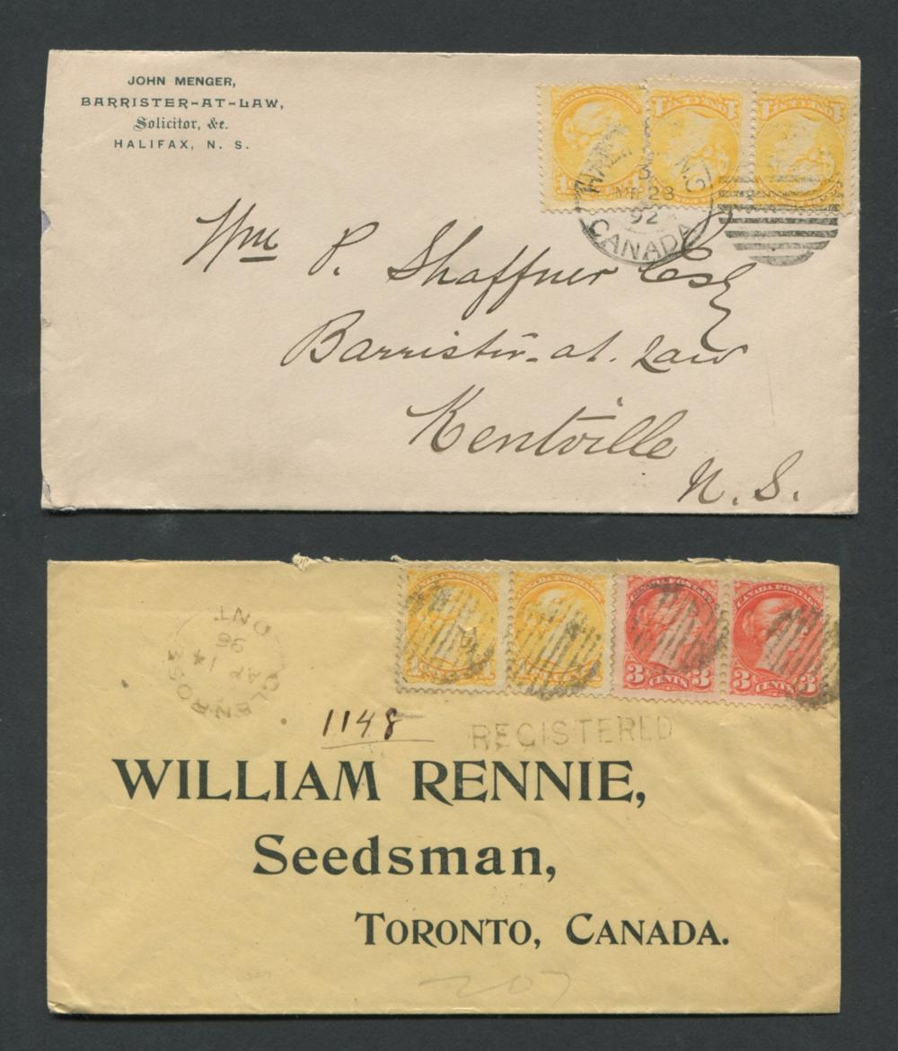 Canada Advertising Stamp Covers 19