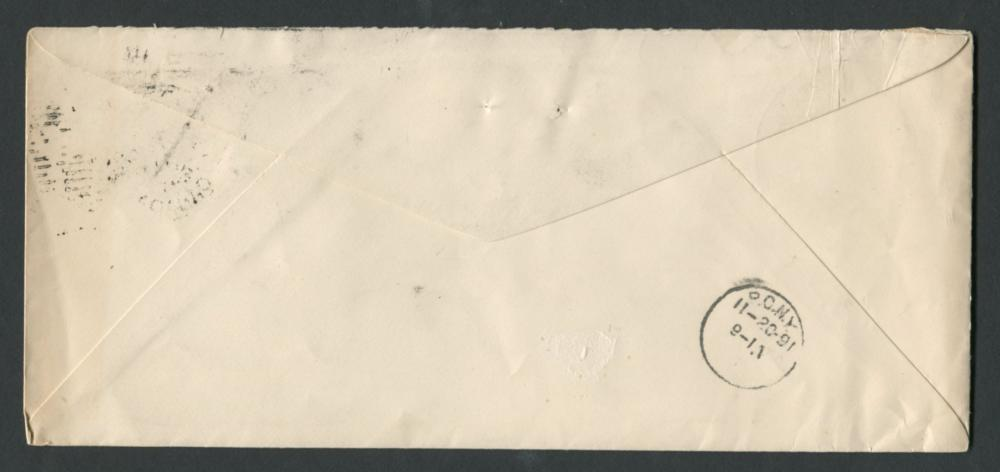 Canada Advertising Stamp Cover 1891