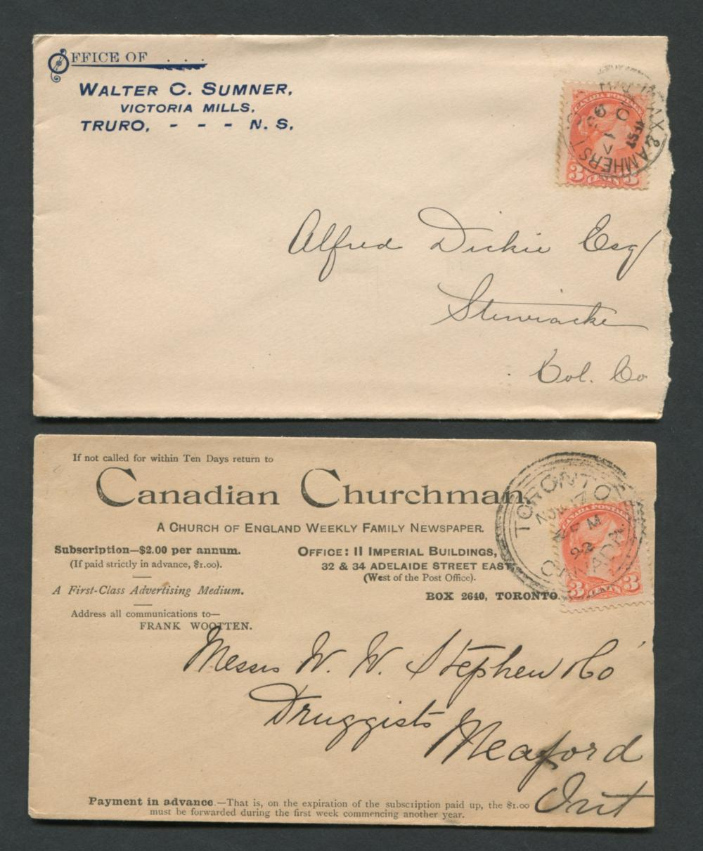 Canada Advertising Stamp Covers 29