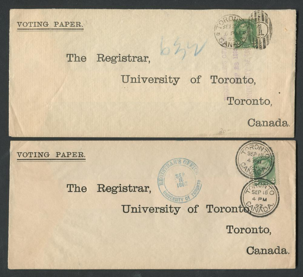 Canada Victoria Stamp Covers 21