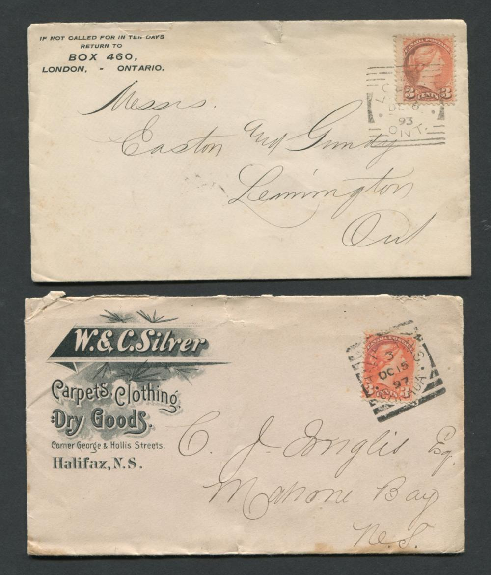 Canada Advertising Stamp Covers 9