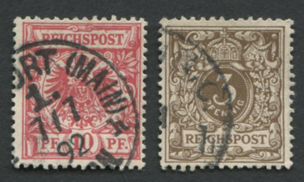 Germany 1889-1890 #45 A90 Stamps
